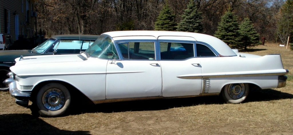 fully equipped 1957 Cadillac Fleetwood 75 Limousine project