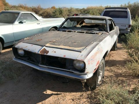 needs drivetrain 1968 Chevrolet Camaro solid project for sale