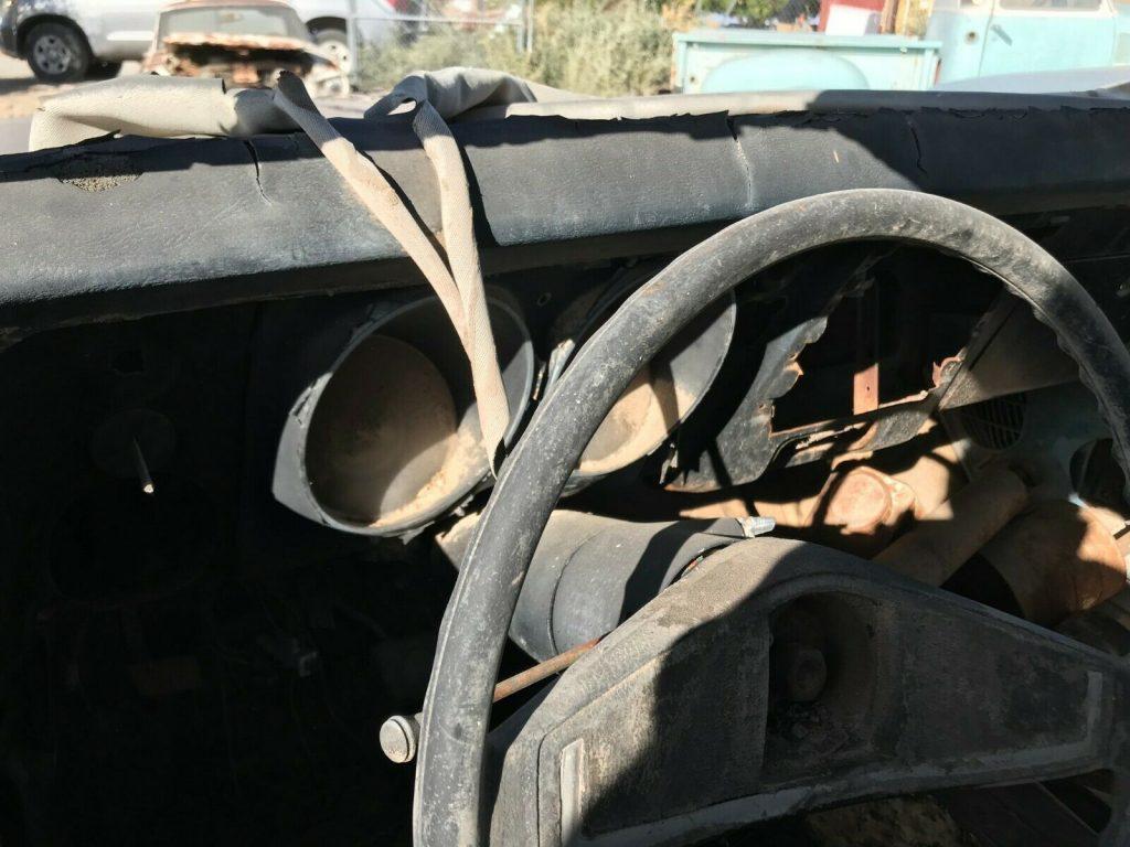 needs drivetrain 1968 Chevrolet Camaro solid project