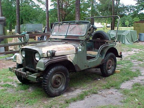 needs work 1969 Willys M38a1 Jeep Military project for sale