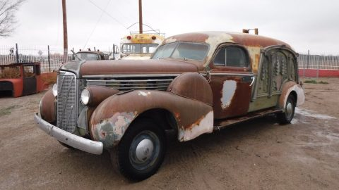 rare 1938 Cadillac Lasalle S & S Hearse project for sale