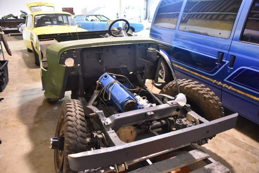 Rare 1944 Ford GPW WWII Willys project