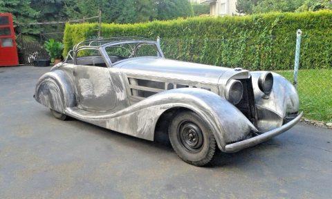 unique replica 1939 Mercedes Benz 540K Cabriolet project for sale
