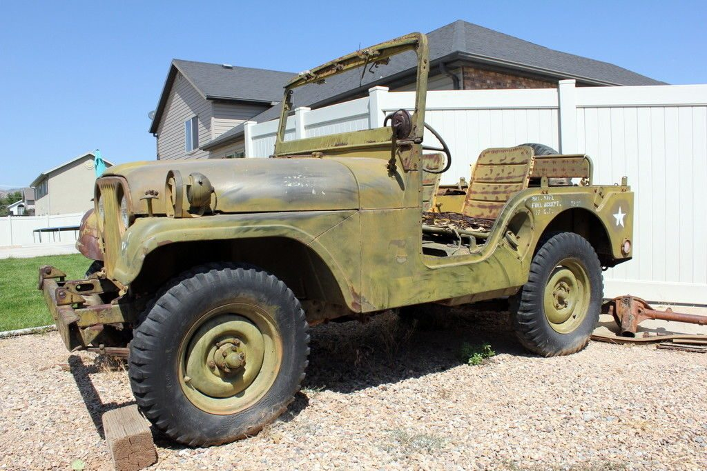 unrestored 1953 M38a1 Willys MD project