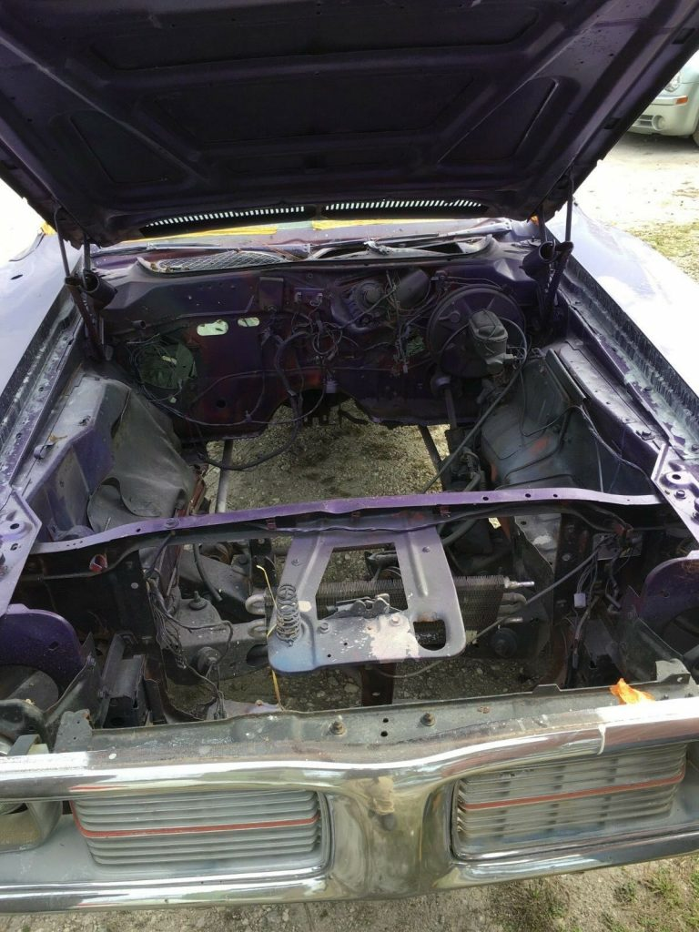 classic muscle car 1974 Dodge Charger project