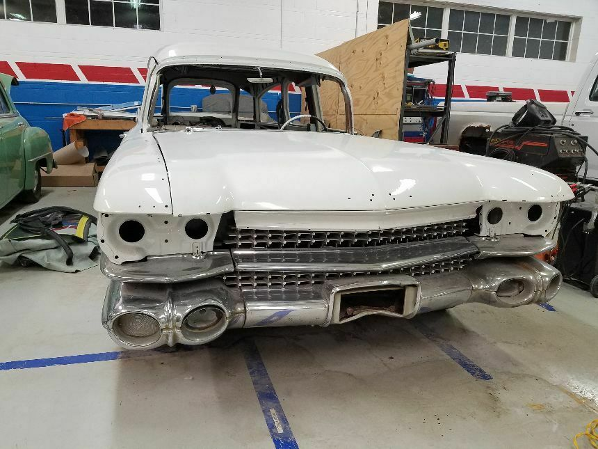 ghostbusters tribute 1959 Cadillac Eureka hearse project