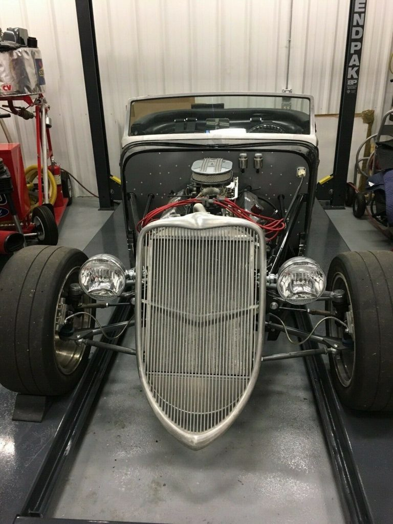 needs finishing 1933 Factory Five Hot Rod Replica project