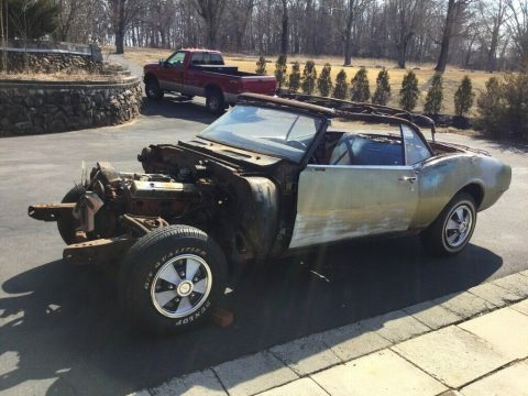 needs total resto 1968 Chevrolet Camaro Convertible 350 4 Speed project for sale