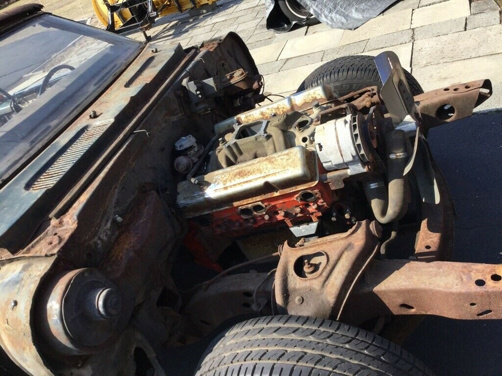 needs total resto 1968 Chevrolet Camaro Convertible 350 4 Speed project