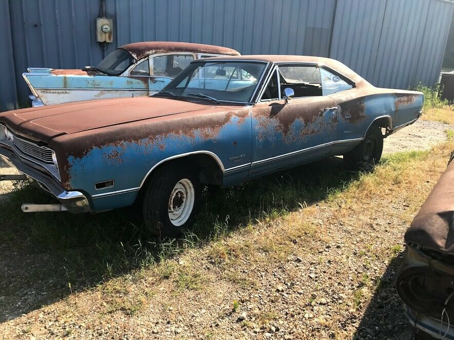 rusty 1969 Dodge Coronet project