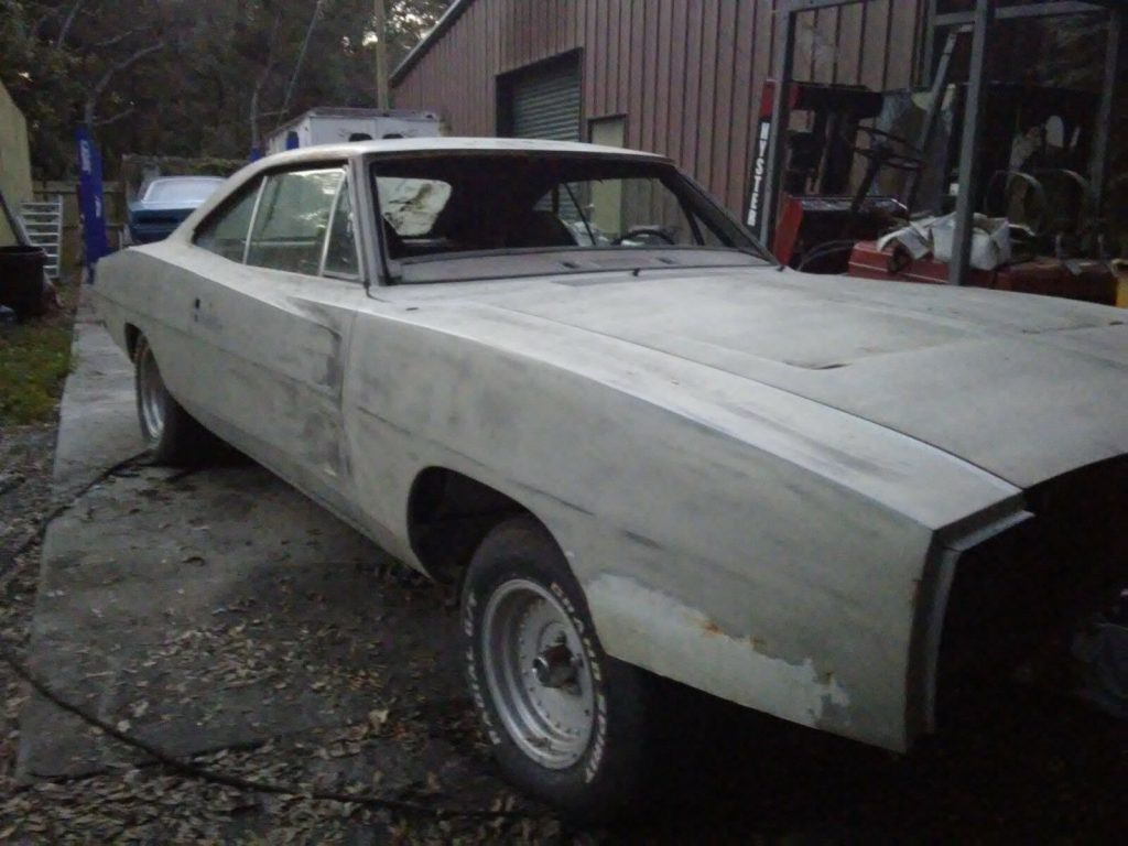 solid 1970 Dodge Charger 500 project