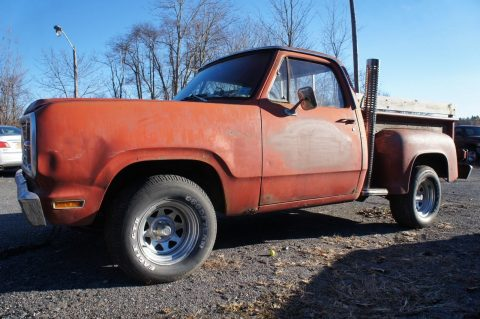 "solid 1979 Dodge Pickups ""lil"" Red Express"" project for sale"