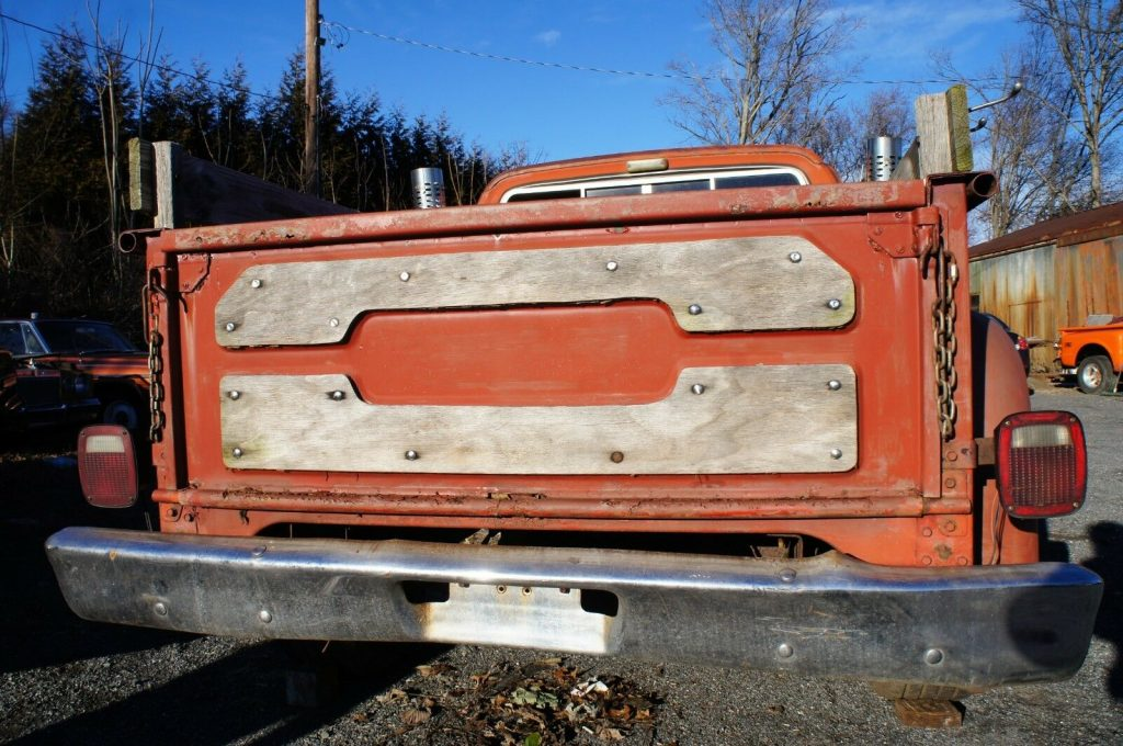 "solid 1979 Dodge Pickups ""lil"" Red Express"" project"