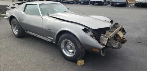 vintage 1973 Chevrolet Corvette project for sale