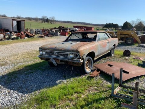 classic 1966 Chevrolet Chevelle 396 SS 4SPD PROJECT for sale