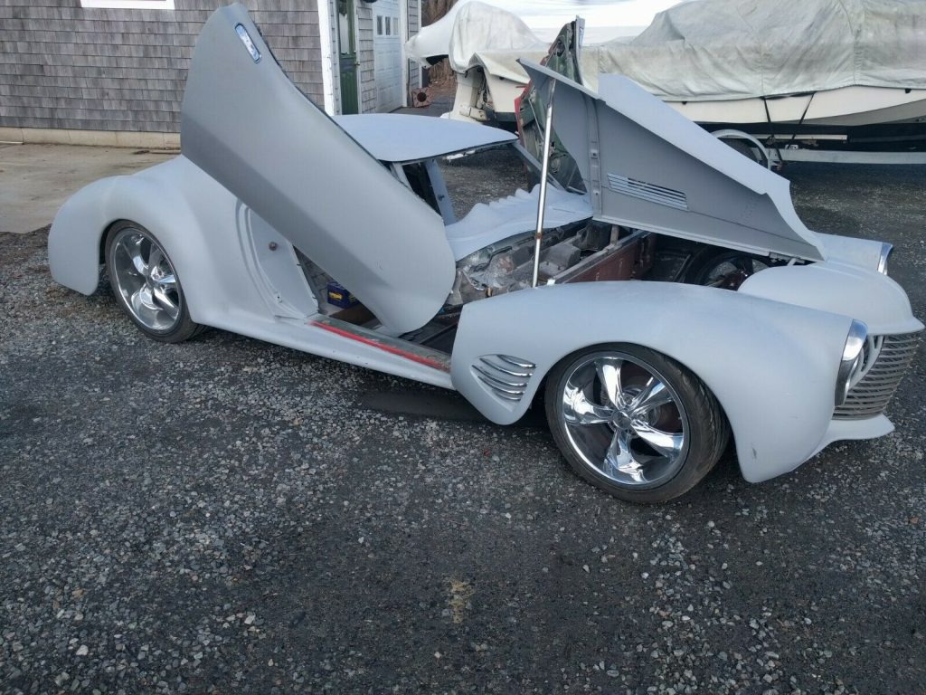 custom 1973 Chevrolet Corvette project