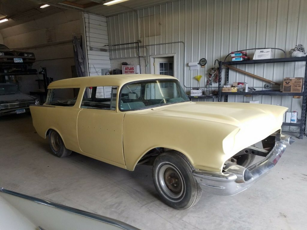 custom build 1957 Chevrolet Bel Air project