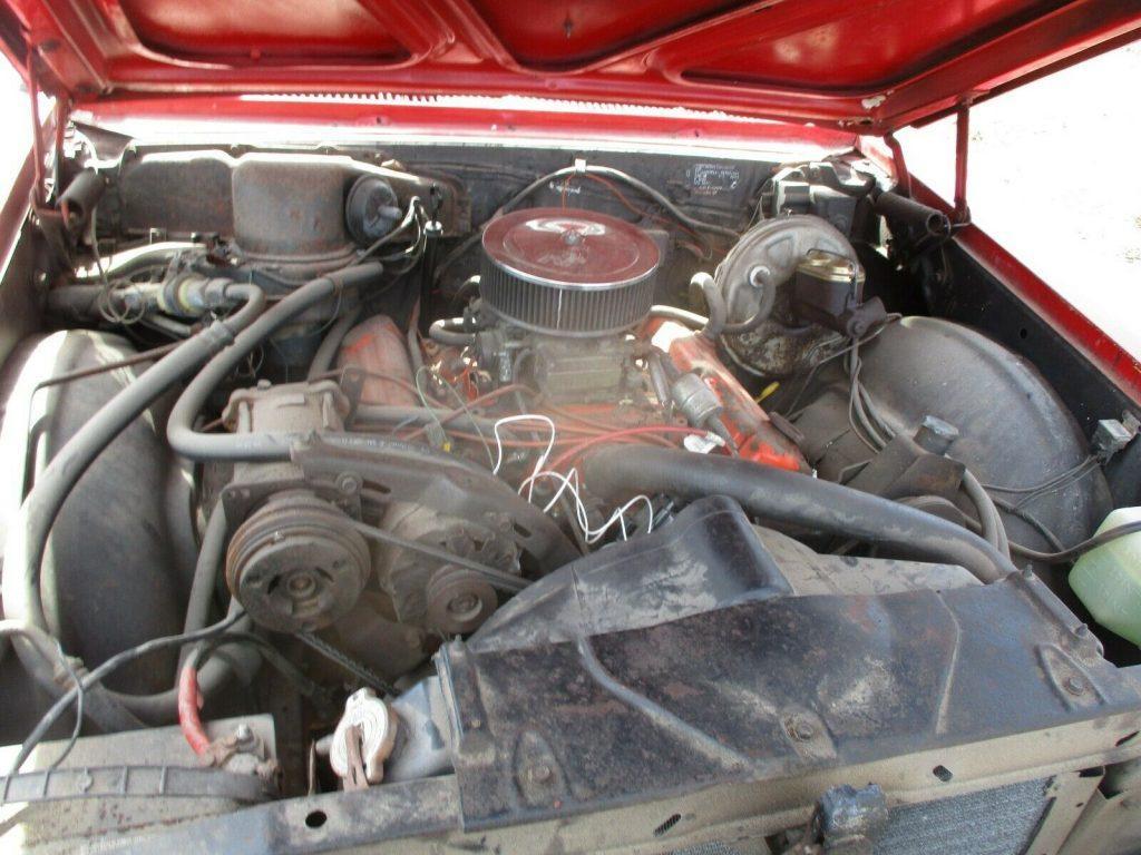 GS 400 clone 1967 Buick Skylark convertible project