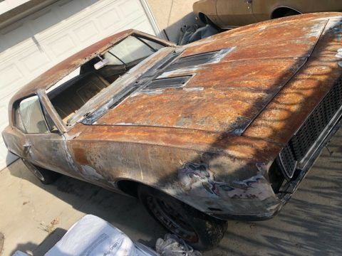 Needs full restoration 1967 Chevrolet Camaro RS project for sale