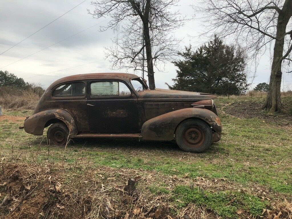needs total restoration 1938 Buick 44 Special Series project