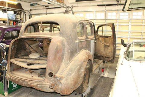 solid 1936 Buick Special Series 40 project for sale