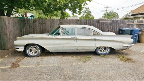 solid 1960 Buick LeSabre Sedna project for sale