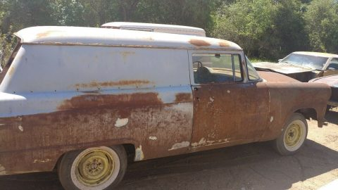 surface rust 1956 Ford Sedan Delivery project for sale