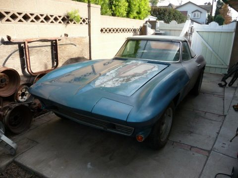 all original 1966 Chevrolet Corvette project for sale