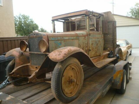 barn find 1930 Chevrolet Pickup project for sale