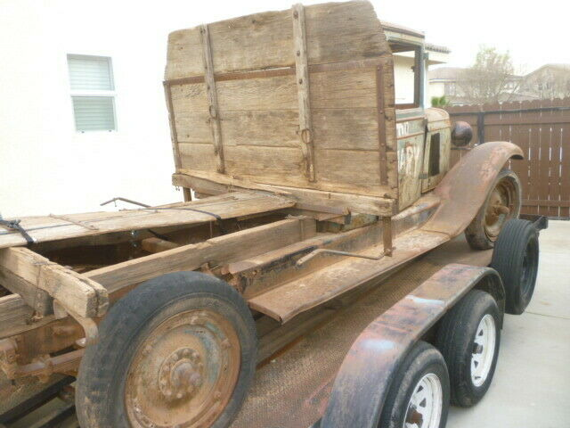 barn find 1930 Chevrolet Pickup project