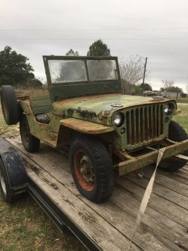 barn find 1945 Jeep GPW project for sale