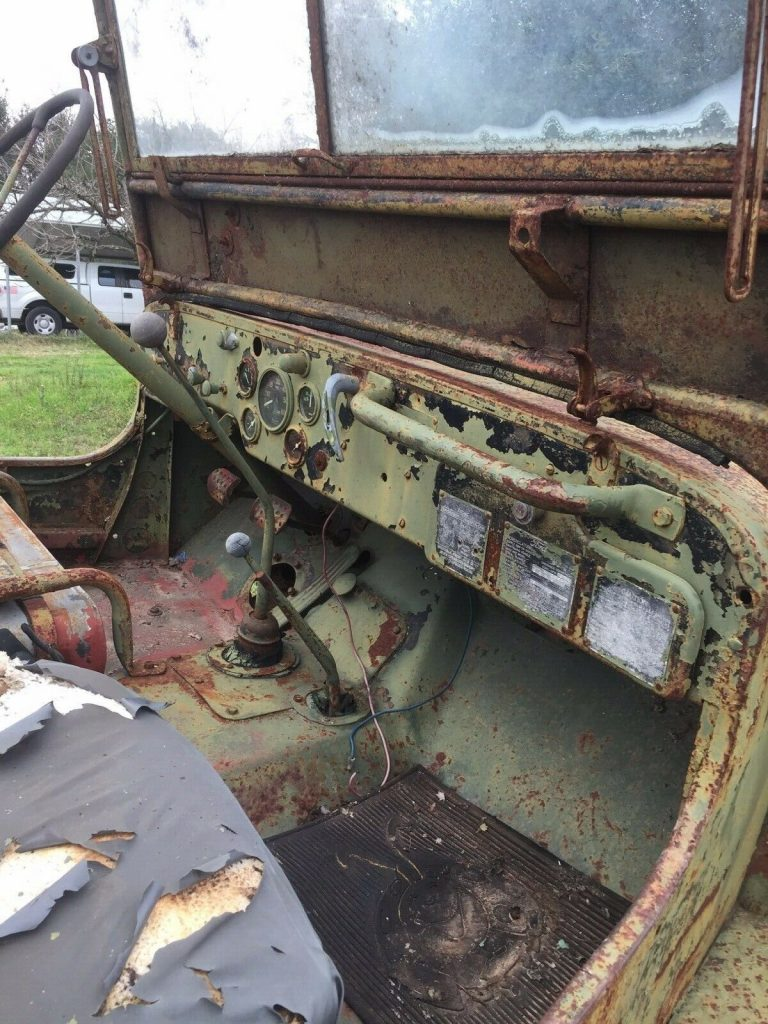 barn find 1945 Jeep GPW project