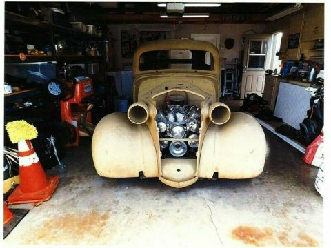 hot rod 1938 Chevrolet Chevy 2 door Sedan project for sale