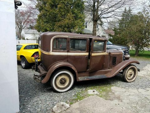 missing drivetrain 1930 Chevrolet 4 door project for sale