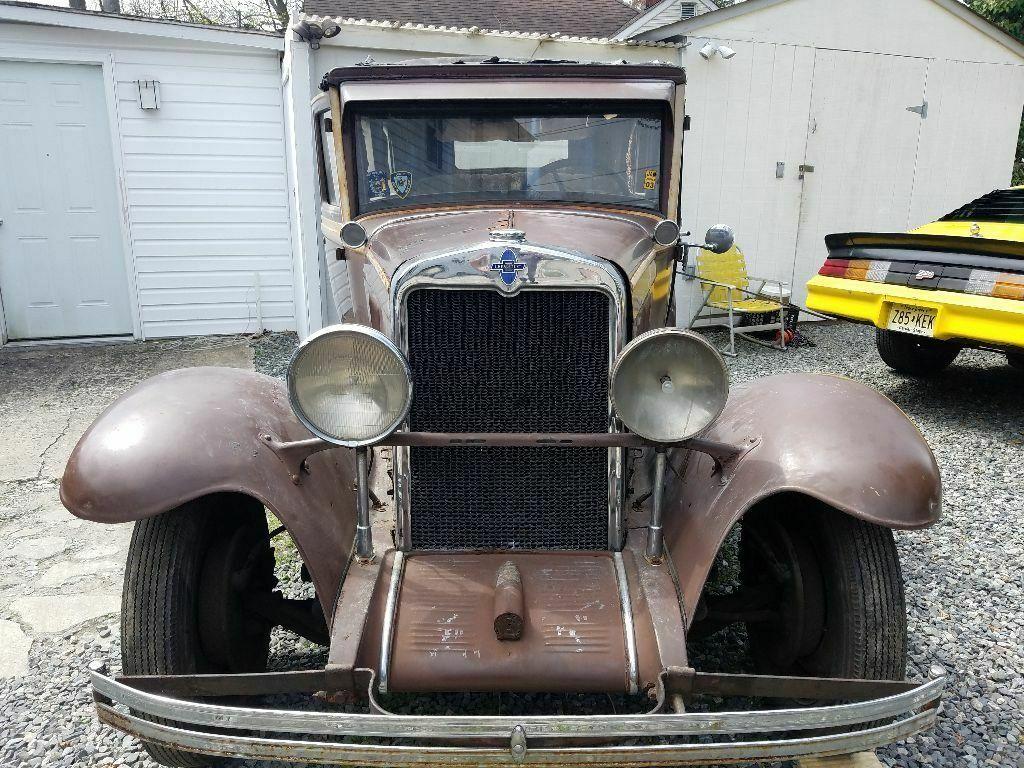 missing drivetrain 1930 Chevrolet 4 door project