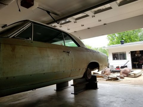 modified 1967 Chevrolet Chevelle project for sale