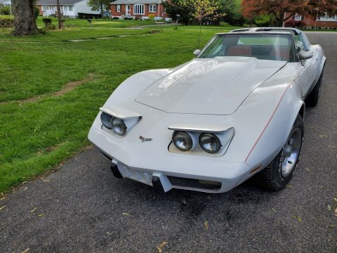 needs TLC 1977 Chevrolet Corvette Project for sale