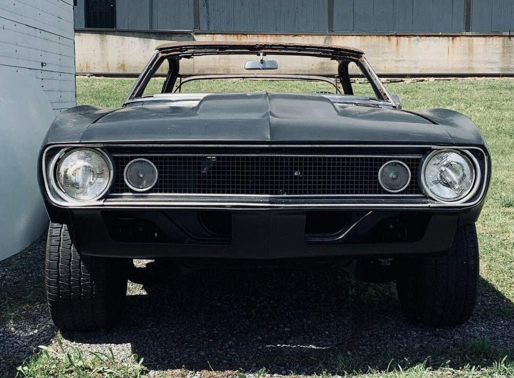 new extra parts 1967 Chevrolet Camaro Project