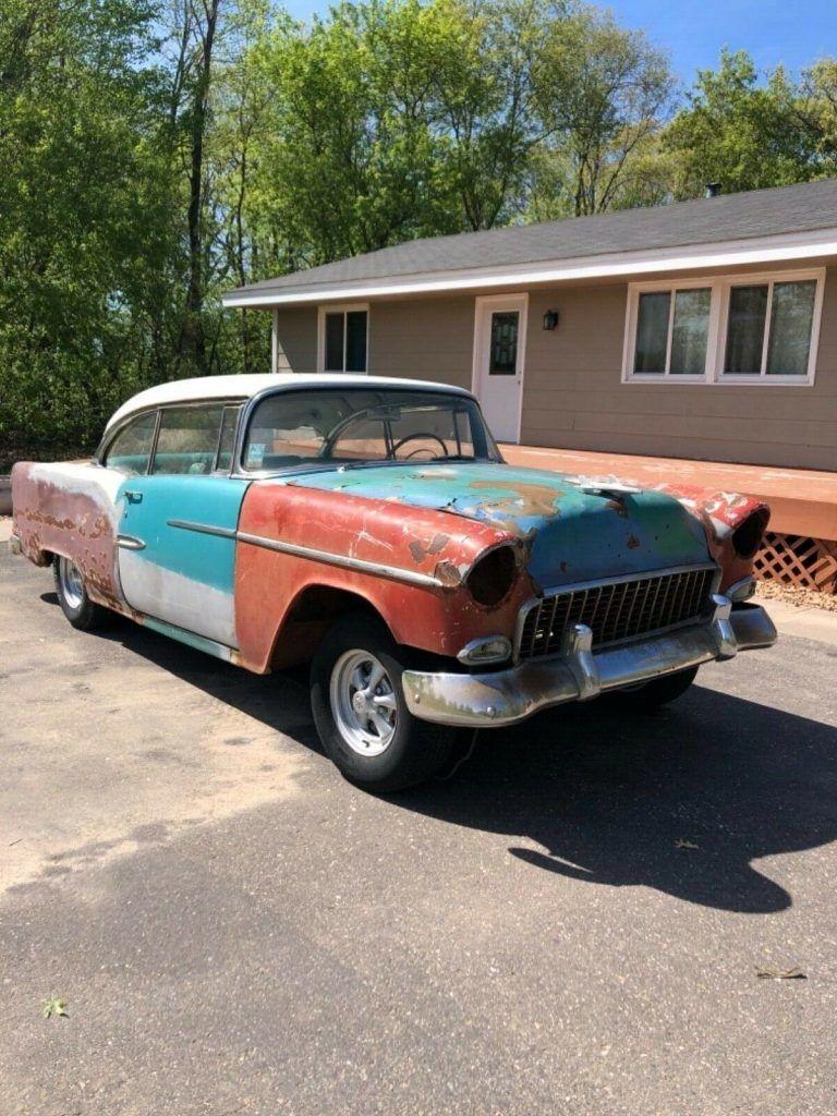no drivetrain 1955 Chevrolet Bel Air project