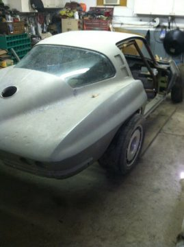 restomod project 1964 Chevrolet Corvette project for sale