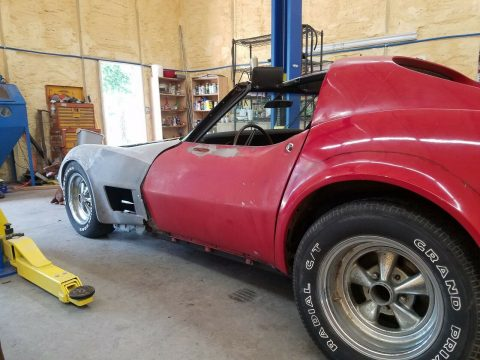 rolling chassis 1968 Chevrolet Corvette project for sale