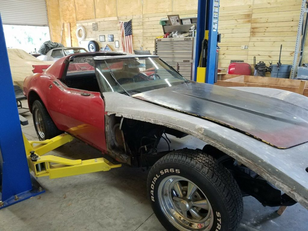rolling chassis 1968 Chevrolet Corvette project