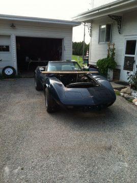 SCCA street 1973 / 1979 Chevrolet Corvette project for sale