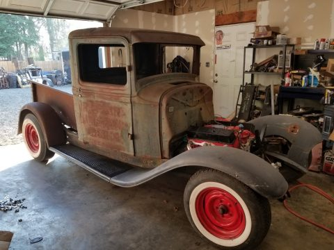 solid 1934 Ford Pickup hot rod project for sale