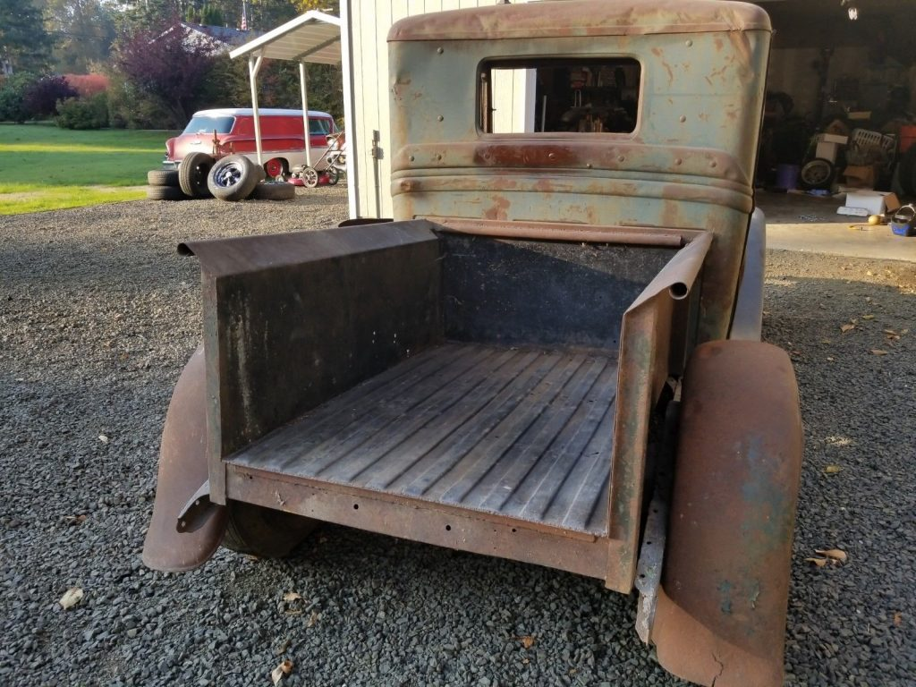 solid 1934 Ford Pickup hot rod project