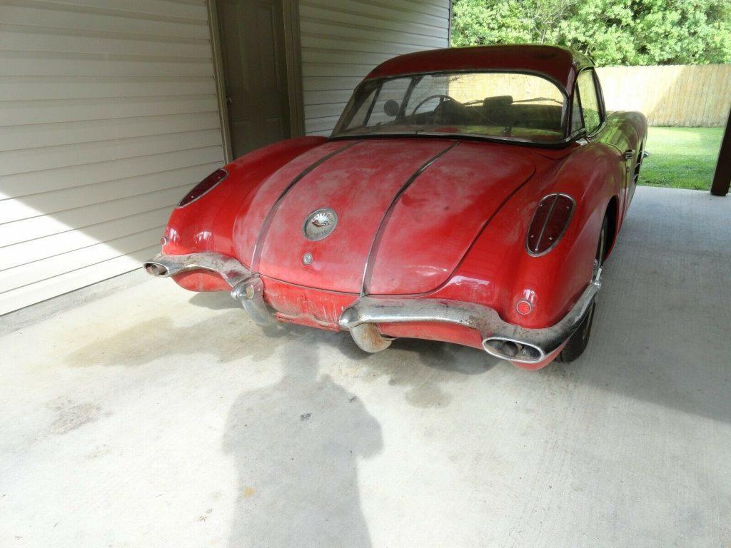 solid 1958 Chevrolet Corvette project