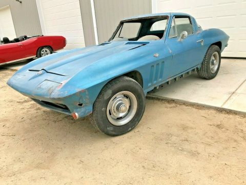barn find 1965 Chevrolet Corvette project for sale