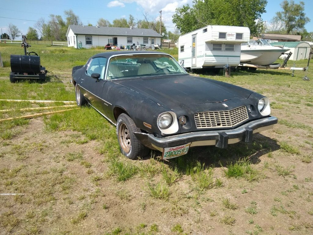 barn find 1977 Chevrolet Camaro project