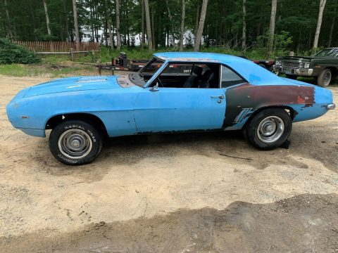 missing drivetrain 1969 Chevrolet Camaro Super Sport BIG Block SS Solid PROJECT for sale