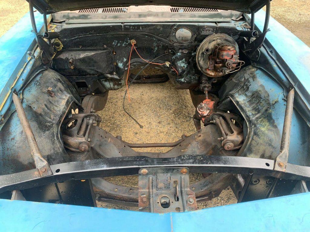 missing drivetrain 1969 Chevrolet Camaro Super Sport BIG Block SS Solid PROJECT